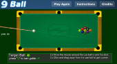 9 Ball - online game | Mahee.com