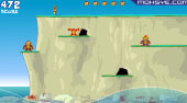 Monkey Cliff Diving - jeu en ligne | Mahee.fr