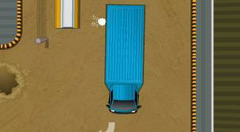 Park My Big Rig 2 - online game | Mahee.com