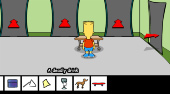 Bart Simpson Saw Game | Free online game | Mahee.com