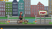 Biking in Amsterdam - Game | Mahee.com