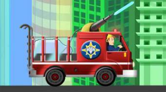Fire Man Sam's Fire Truck - online game | Mahee.com