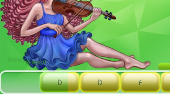 Amusix: Violin - online game | Mahee.com