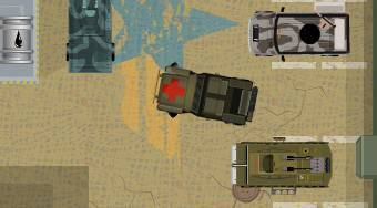 Army Base Parking | Free online game | Mahee.com