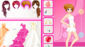 Glamour Bride Dress Up - Game | Mahee.com