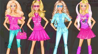 Barbie Room Dress Up - online game | Mahee.com