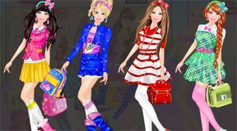 Barbie at School | Free online game | Mahee.com