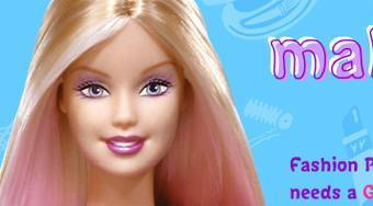 Barbie Makeover - online game | Mahee.com