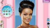 Black Beauty Rihanna Makeup | Free online game | Mahee.com