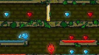 Templo del Bosque | (Fireboy and Watergirl in the Forest Temple) - El juego | Mahee.es