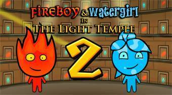 Templo del bosque 2 | (Fireboy and Watergirl 2 in the LIght Temple) - el juego online | Mahee.es
