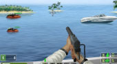Speedboat Shooting - online game | Mahee.com