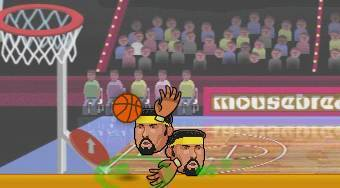 Sport Heads Basketball - online game | Mahee.com