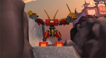Lego Ninjago the Final Battle 3D - online game | Mahee.com