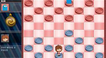 Juego de damas online | (Big Shot Checkers) | Mahee.es
