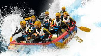 White Water Rafting - online game | Mahee.com