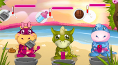 Baby Dino Love - online game | Mahee.com