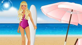 Barbie Goes Surfing | Mahee.fr