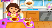 Dora's Breakfast - online game | Mahee.com