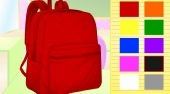 La bolsa de escuela y el bloc de apuntes | (Design your own Backpack and Notebook) | Mahee.es