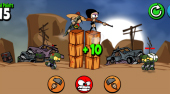 Zombies Can't Jump - online game | Mahee.com