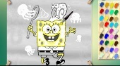 Spongebob et la Meduse | (Spongebob With Jelly Fish) | Mahee.fr