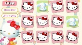 Hello Kitty Memory Game | Free online game | Mahee.com