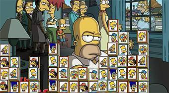 Tiles of The Simpsons - online game | Mahee.com