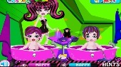 Monster High Twins Babysitter | Mahee.es
