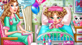 Baby Flu Doctor - online game | Mahee.com