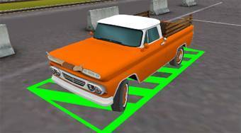 3D American Truck | Free online game | Mahee.com