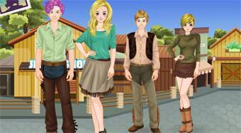 Cowboys and Cowgirls | Free online game | Mahee.com