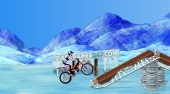 Bike Mania On Ice - online game | Mahee.com