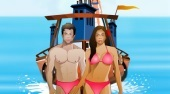 Boat Kissing | Free online game | Mahee.com