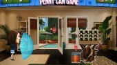 Cougar Town Penny Can Game