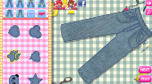 Decorate My Jeans | Free online game | Mahee.com