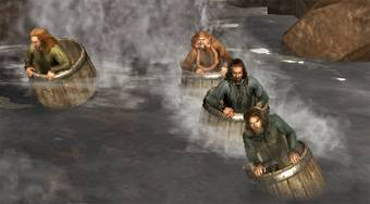 The Hobbit: Barrel Escape | Mahee.es