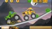 Monster Truck Halloween Race | Free online game | Mahee.com