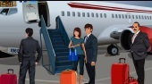 Kissing at the Airport - online game | Mahee.com