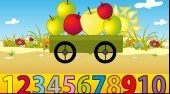 How Many Apples are in the Cart - Game | Mahee.com
