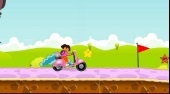 Dora Hurricane Ride - Game | Mahee.com