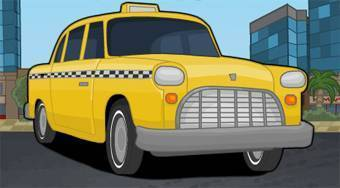 Drive Town Taxi - online game | Mahee.com