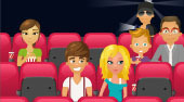 Kissing at the Movies - online game | Mahee.com