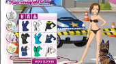 Policewoman Dress Up - Game | Mahee.com