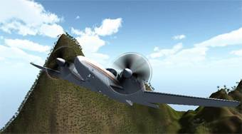 3D Flight Sim - Game | Mahee.com