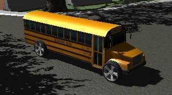 3D School Bus Parking | Mahee.com