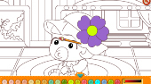 Happy Baby Coloring - Game | Mahee.com