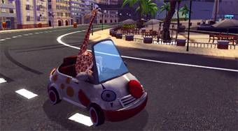 Madagascar 3 Race Across Europe - online game | Mahee.com