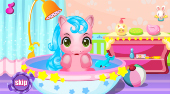 My Baby Pony Care - online game | Mahee.com