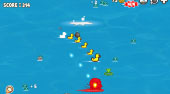 Duck Tub Battle - jeu en ligne | Mahee.fr